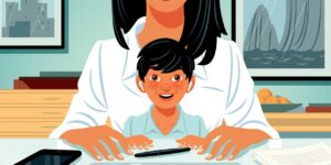 What Your Kid Thinks About Your Job: 'It Goes On All Day'