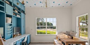 Ceiling Wallpaper: An Interior Design Move That's Topping the Trend List