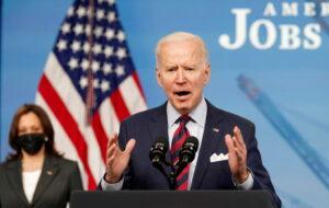 WATCH: Biden speaks on latest gains in jobs report