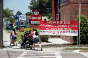 U.S. jobless claims fall to 364,000, a new pandemic low