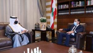 Lebanon caretaker premier pleads for aid as crisis worsens