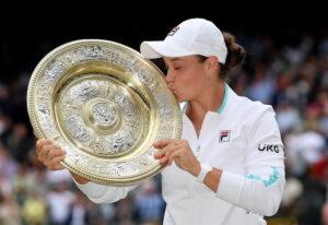 Barty ends Australia's long wait for Wimbledon title