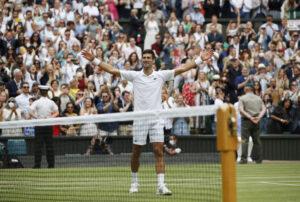 Djokovic wins Wimbledon to tie Federer, Nadal with 20 Slams