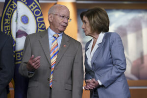 A third infrastructure bill cruises into Dems' 'two-track' traffic jam