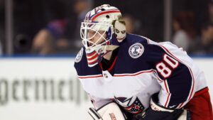Medical examiner: Blue Jackets goalie died from chest trauma caused by fireworks mortar blast