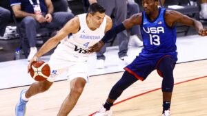 USA recovers, tops Argentina 108-80 in pre-Tokyo tune-up