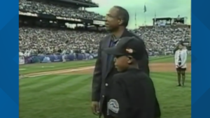 Kid who threw first pitch at 1998 All-Star game all grown up