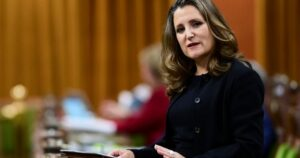 Canada has 'a practical and a moral duty' to fight COVID-19 around the world: Freeland – National