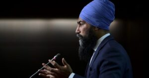 NDP job plan would use 'Canadian products' in new infrastructure projects, Singh says – National