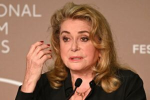 Cannes veteran Catherine Deneuve says moved by festival return after stroke, Entertainment News & Top Stories