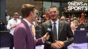 MLB players walk the red carpet to All-Star Game