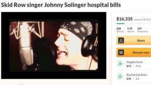 Ex-Skid Row singer Johnny Solinger dead at 55