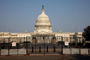 Remaining metal fencing around Capitol set to come down