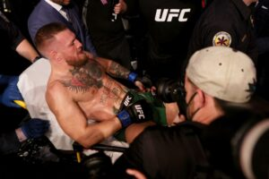 McGregor feels 'tremendous' after surgery, vows to return