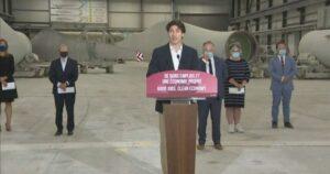 Trudeau announces $25M for expansion of wind power plant in Quebec's Gaspé region