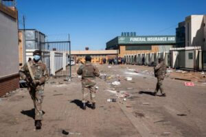 South African government asks for 25,000 troops to curb unrest, World News & Top Stories